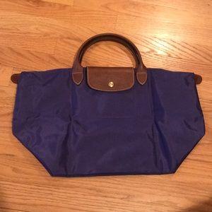NWT Purple Longchamp tote